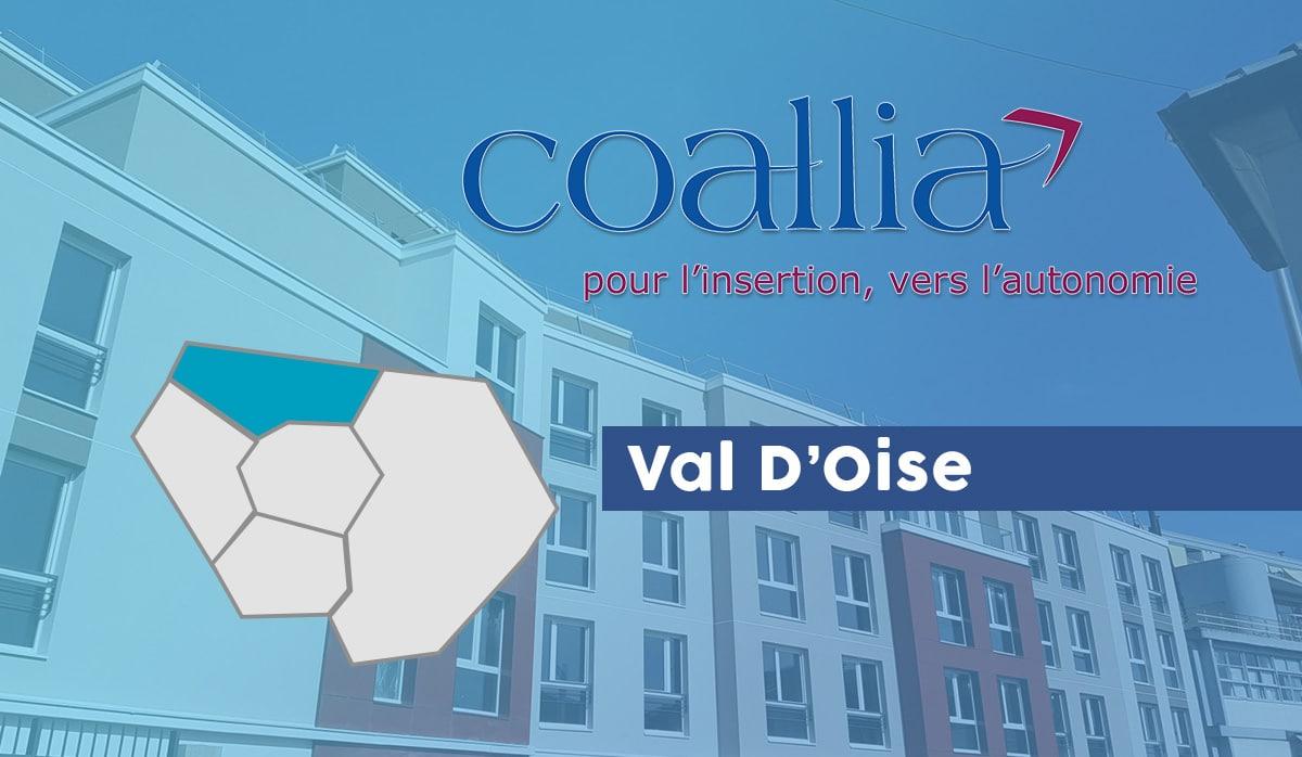 Coallia 95 centre hébérgement Val d'Oise
