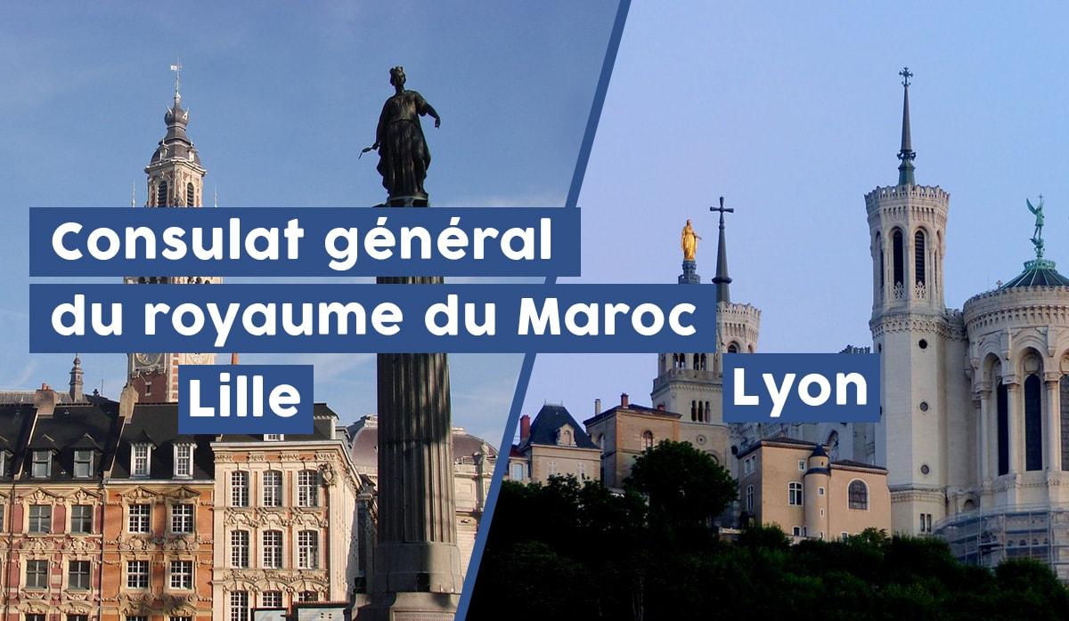 Consulat du Maroc Lille Lyon