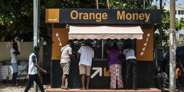 Retrait argent Orange Money