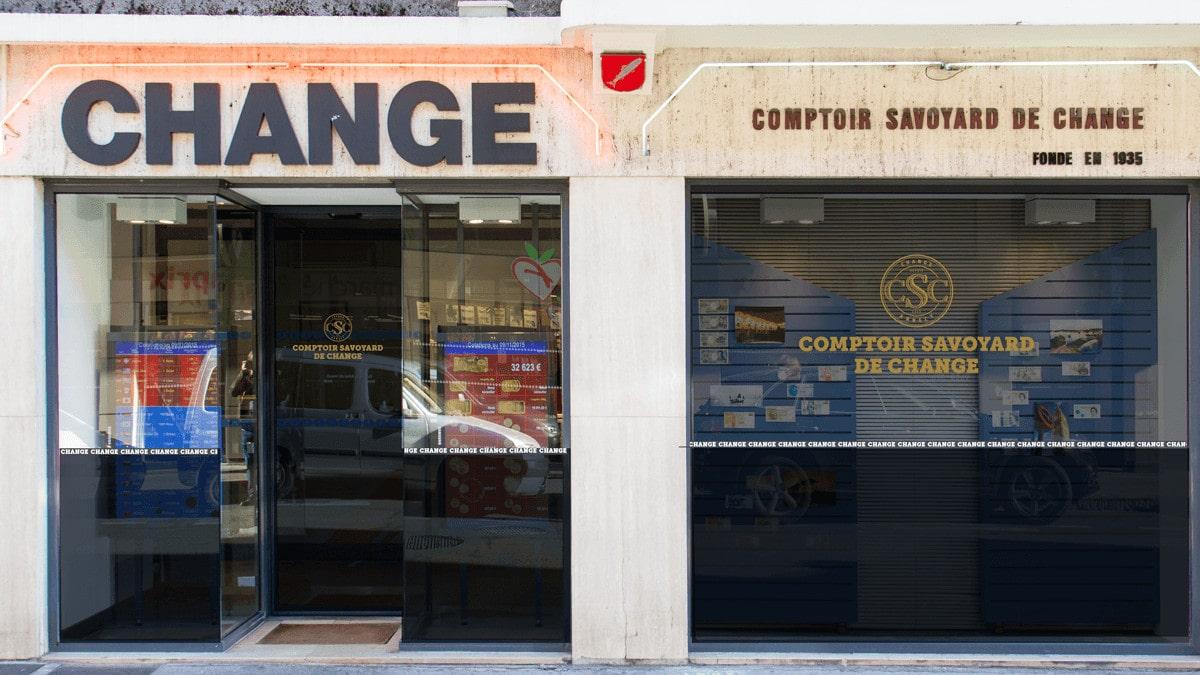 Bureau de change