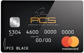 Carte PCS Black