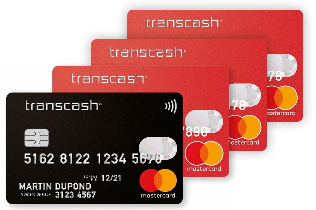 Payer avec une carte Transcash