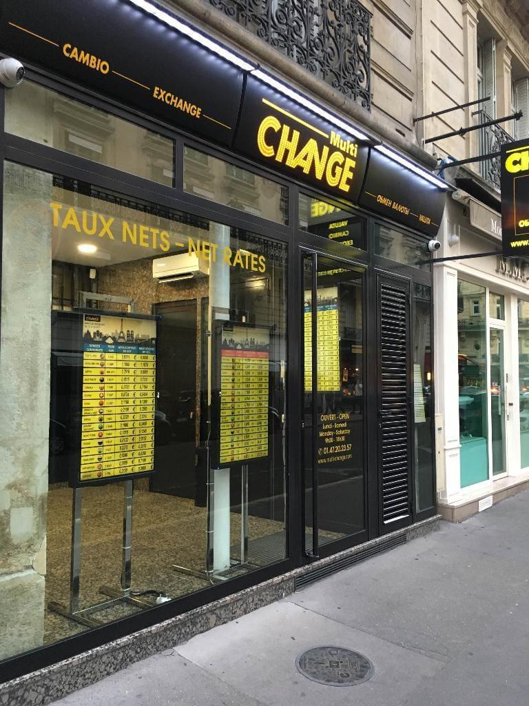 Bureau de change Paris 8 : échanger de la monnaie